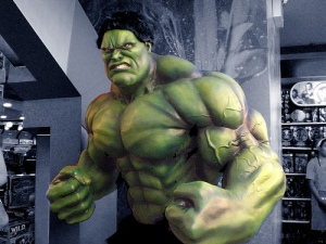 Characterise your antagonist: Incredible Hulk