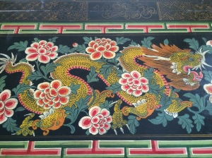 L E Medlock flash fiction: The Painted Dragon