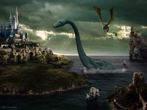 Fantasy Castle originally made by RL Fantasy Design Studio, LE Medlock